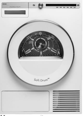 ASKO droogmachine T409HS.W warmtepomp A++